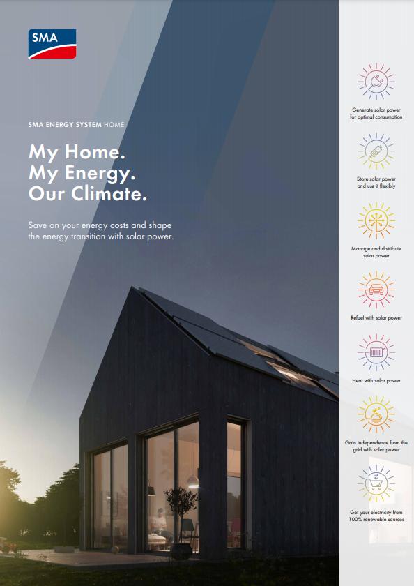 SMA Energy System Home Brochure